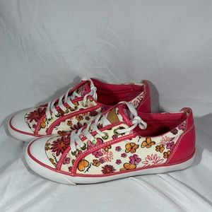 🌸PINK FLORAL COACH BARRETT FASHION SNEAKERS🌸 7
